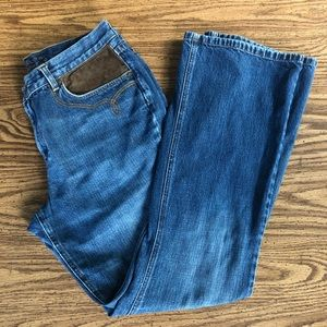 Ralph Lauren Jeans Co Jeans with leather insets
